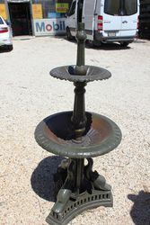 Cast Iron 2 Tier Dolphin Base Fountain