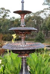 Cast Iron 2 Tier Victoria Fountain