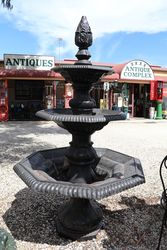 Cast Iron 3 Tier Granada Fountain
