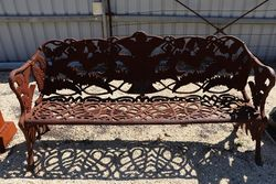 Cast Iron Colebrookdale Bench