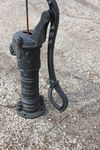 Cast Iron D Handle Village Pump