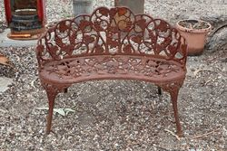 Cast Iron Duchess Seat