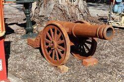Cast Iron Large Sized Cannon