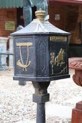 Cast Iron Letterbox
