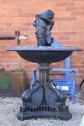 Cast Iron Naples Fountain