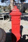 Cast Iron Post    letter Box