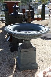 Cast Iron Toulouse Medium Urn and Base