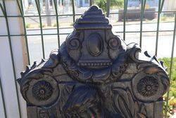 Cast Iron Wall Fountain