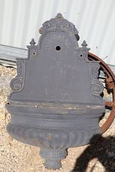 Cast Iron Wall Fountain