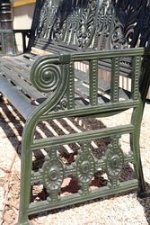 Cast Iron Windsor 3 Seater  Bench