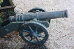Cast Iron  Medium Size Cannon