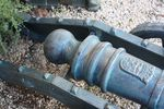Cast Iron  Medium Size Cannon