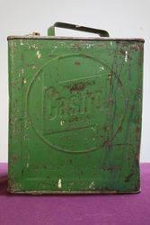 Castrol 2 Gallons Oil Tin
