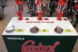 Castrol 3 Pump  Portable Oil Station