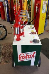 Castrol 3 Pump  Portable Oil Station