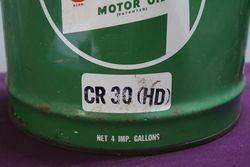 Castrol 4 Gallons Oil Tin