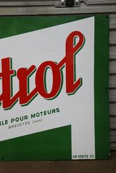 Castrol Z Enamel Advertising Sign
