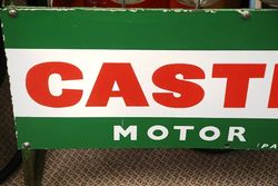 Castrol Z Enamel Front 12 Oil Bottle Rack