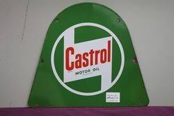 Castrol Z Motor Oil Enamel Sign