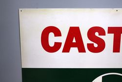 Castrol Z New Old Stock Aluminium Sign