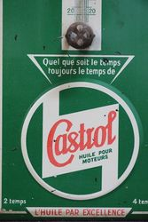 Castrol Z Thermometer Tin Sign