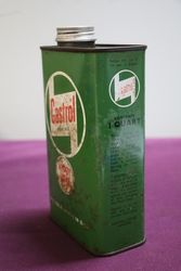 Castrol one Quart Gear Oil Tin