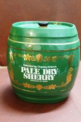 Ceramic Pale Dry Sherry Dispenser