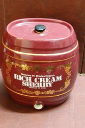 Ceramic Rich Cream Sherry Dispenser