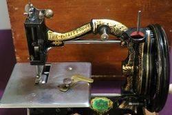 Challenge Sewing Machine  Serial No 9245