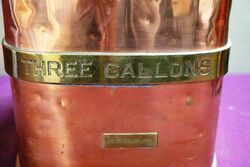 Checkpump Copper and Brass Bound 3 Gal  Petrol Measure