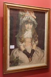 Cherry Ripe Victorian Print + Frame Painted By JEMillais  RA