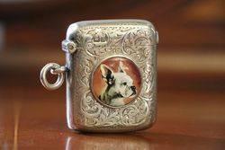 Chester Silver 1902 Vesta Case