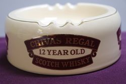 Chivas Regal Scotch Whisky Ashtray