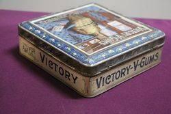 Chlorodyne Victory V Gums Pictorial Tin