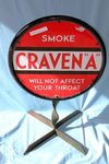 Classic Craven Double Sided Enamel Sign