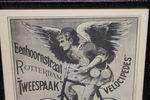 Classic Original Framed Bingham +Co Advertising Cycles  Print