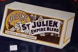 Classic St Julien Pictorial  Enamel Sign