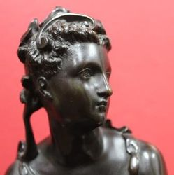 Classical Bronze Figure of a Woman
