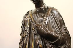 Classical Bronze Of Sappho Tenth Muse C185060