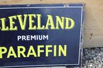 Cleveland Paraffin Oil Sign