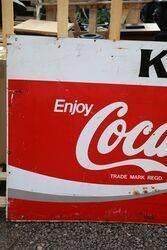 Coca Cola Advertising Sign