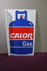 Color Gas Pictorial Double Sided Alloy Sign
