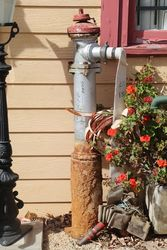 Complete Set Of Vintage Fire Hydrant