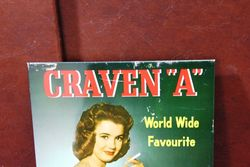 Craven A Cigarettes Pictorial Tin Calendar