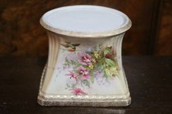 Crown Ducal Rose Bowl And Stand