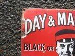 Day + Martins Polishes Enamel Sign