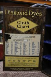 Diamond Dyes Tin Shop Cabinet