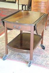 Dropside Tea Trolley with Drawer