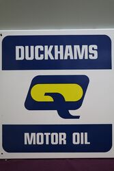 Duckhams Motor Oil Thermometer Sign