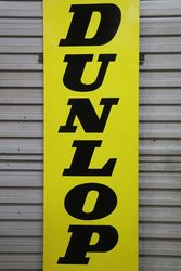 Dunlop D Enamel Advertising Sign